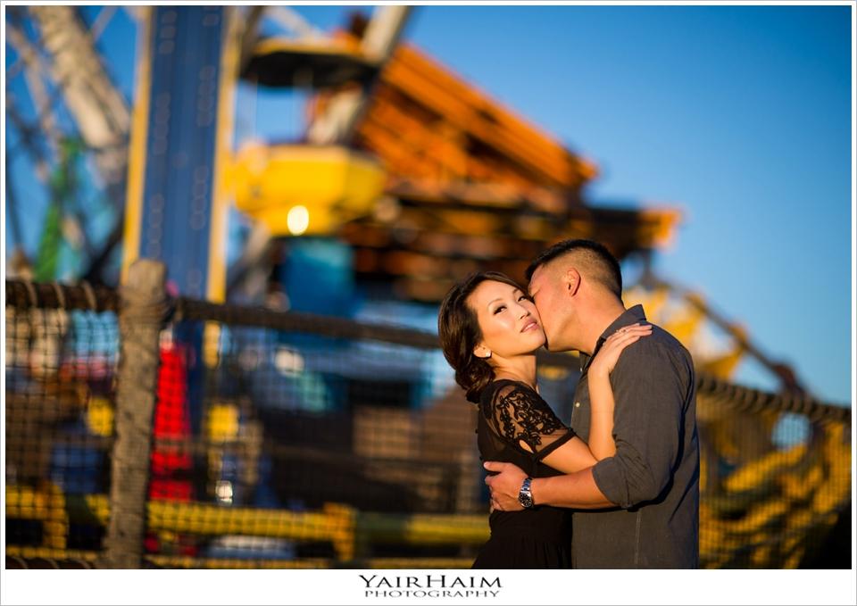 Santa-Monica-pier-engagement-photos-yair-haim-photography
